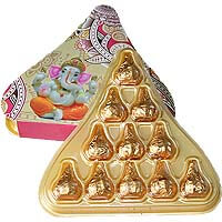 11 Chocolate Modak Gift B11MTW