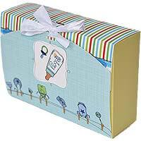 Baby Boy Announcement 15 Chocolates Gift B12CPVG31