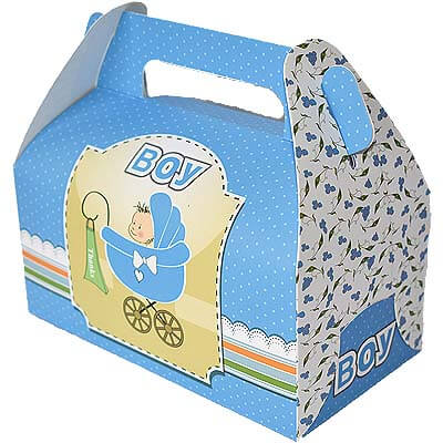 Baby Boy Announcement 14 Chocolates Gift B12CPVG33
