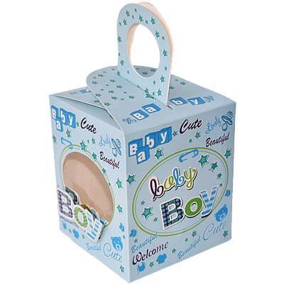 Baby Boy Announcement 18 Chocolates Gift B12CPVG4