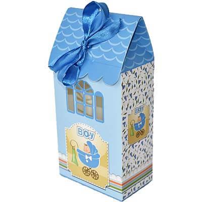 Baby Boy Announcement 8 Chocolates Gift B12CPVG43