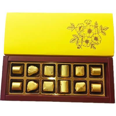 Blasta Premium Yellow 12 Chocolate Gift b12ipyl