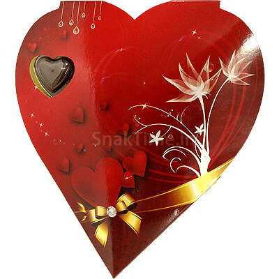 Blasta Sweet Heart Milk Chocolate Gift Box Heart 120 gm