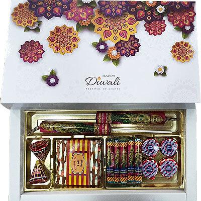 Diwali Cracker Chocolate Gift