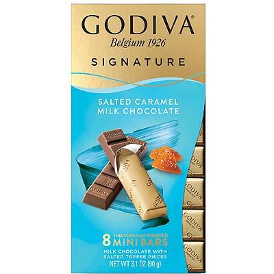 Godiva Belgian Signature Milk Chocolate Salted Caramel 90g