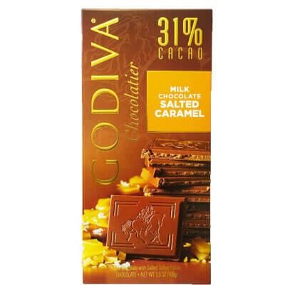 Godiva Chocolatier 31% Milk Chocolate Salted Caramel