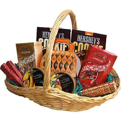 Lindor Hersheys Chocolate Cookie Gift Basket
