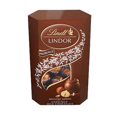 Lindt Lindor Hazelnuts Milk Truffles 200g