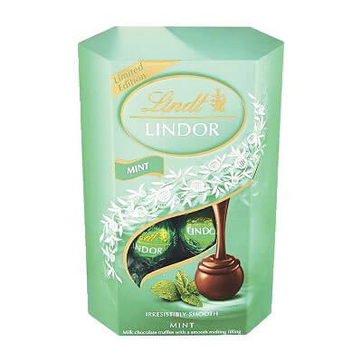 Lindt Lindor Mint Truffles 200g