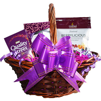Nestle Quality Street Lindt Berry Gift Basket