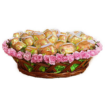 Valentines Chocolate Gift Basket
