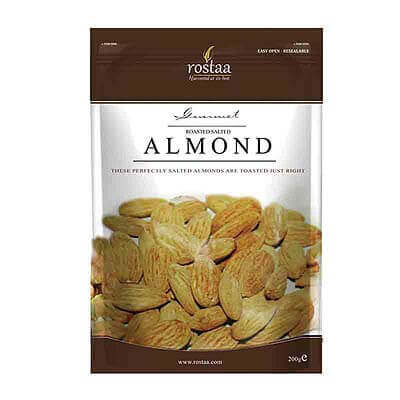 Rostaa Roasted Salted Almonds