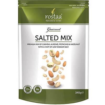 Rostaa Salted Mix Cashews Almonds Pistachios Hazelnuts