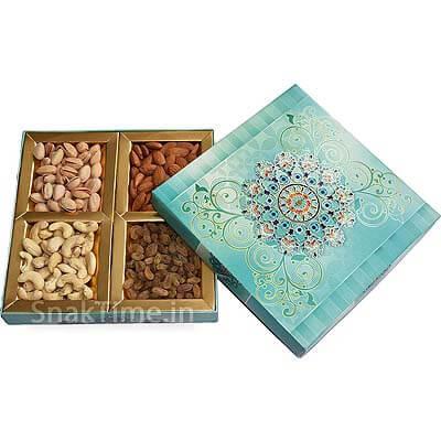 Blue Art Corporate Diwali Dry Fruit Gift STN978X8