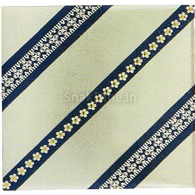 Blue Flower Stripe Diwali Dry Fruit Gift ST12010X10