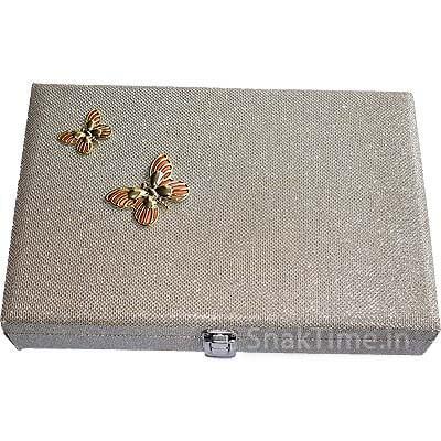 Butterfly Wooden Diwali Dry Fruit Gift STDFB2188X12