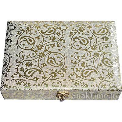 Designer Wooden Diwali Dry Fruit Gift STDFB2087x10
