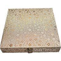 Designer Wooden Diwali Dry Fruit Gift STDFB22712X12