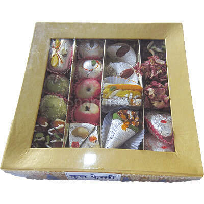 Assorted Fancy Dry Fruit Sweets Gift FF