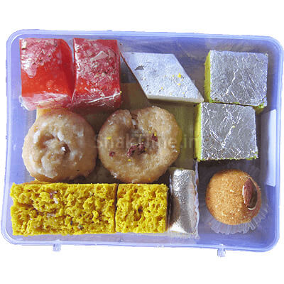Diwali Sweets Combo Gift 3-Pack STDS3N2