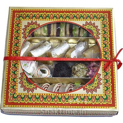 Assorted Dry Fruit Sweets Gift DLX