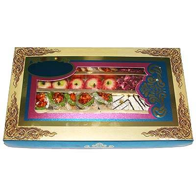 Dry Fruit Sweets Gift Box ST1KGM30