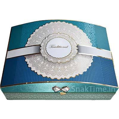 Luxury Wooden Diwali Corporate Dry Fruit Gift STDFLB201