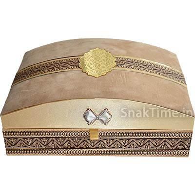 Luxury Wooden Diwali Corporate Dry Fruit Gift STDFLB202