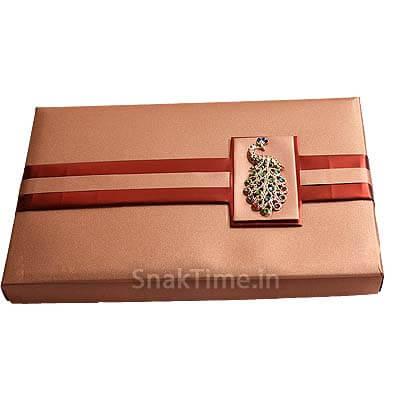 Peacock Designer Dry Fruit Gift ST1498X12