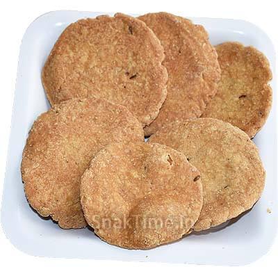 Baked Jowar Puri