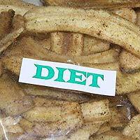 Diet Pepper Banana Chips Long