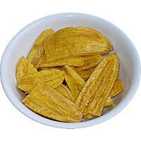 Diet Yellow Banana Chips No Salt