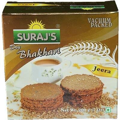Jeera bhakri