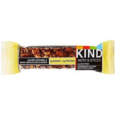 Kind Nuts Bar Salted Caramel Dark Chocolate Almond 40g