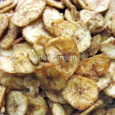 Pepper Banana Chips Round