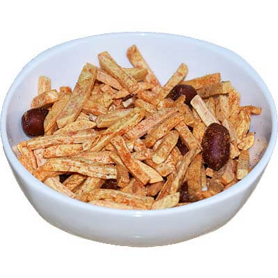 Masala Potato Salli Chivda