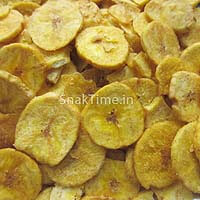 Yellow Banana Chips Round