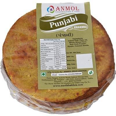 Punjabi Mini Khakhra