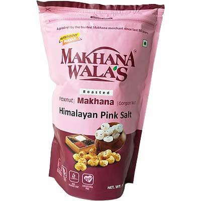 Roasted Himalayan Pink Salt Makhana Lotus Seeds Foxnut