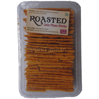 Roasted Jain Pizza Sticks