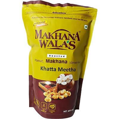 Roasted Khatta Mitha Makhana Lotus Seeds Foxnut