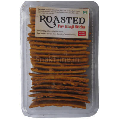 Roasted Pav Bhaji Sticks