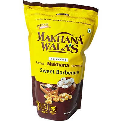 Roasted Sweet Barbeque Makhana Lotus Seeds Foxnut