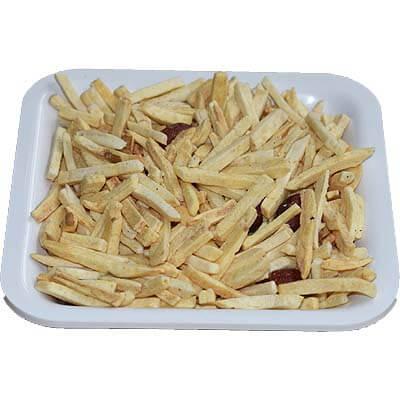 Sada Potato Salli Chivda