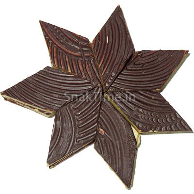 Chocolate Kaju Katli