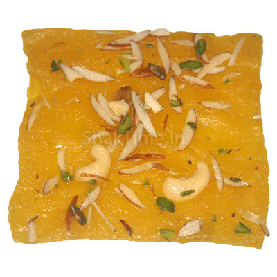 Pineapple Dry Fruit Bombay Ice Halwa