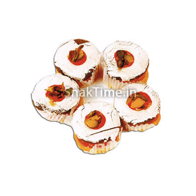 Silver Coin Dry Fruit Sweet