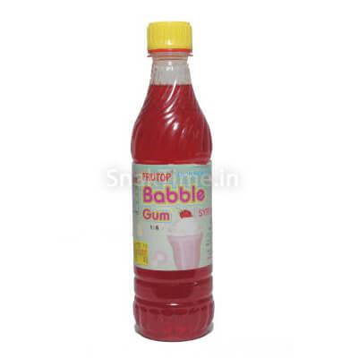 Bubble Gum Syrup