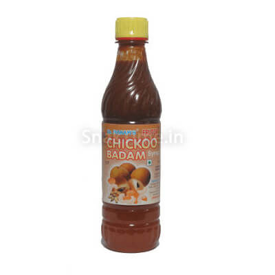 Chickoo Badam Syrup