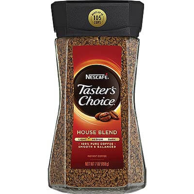 NESCAFE Tasters Choice House Blend Instant Coffee